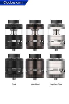 Steam Crave Aromamizer Ragnar RDTA Advanced Kit includes Ragnar basic kit, 25ml glass tube with extension chimney, mesh deck kit and velocity deck.