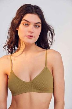 5e6bf5657 Bras + Bralettes for Women: Lace, Cotton, + More. Triangle BraBra TopsUrban  OutfittersWarm ...