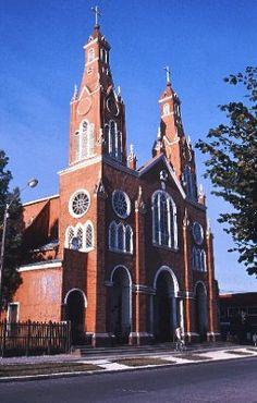 Church in Castro, Chiloe