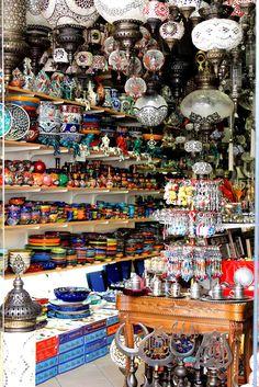 At the bazaar in Bodrum, Turkey