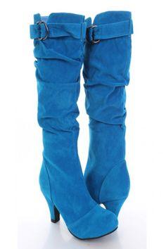 Blue Boots – Best Footwear for Women