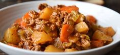 Recette : Stew à la mijoteuse. Slow Cooker Recipes, Crockpot Recipes, Cooking Recipes, Good Food, Yummy Food, Pot Roast, Stew, Meal Prep, Main Dishes
