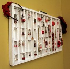 beautiful way to store and display your favourite jewelry