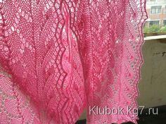 ШАРФИК ОТ ЯПОНСКИХ МОДНИЦ Prayer Shawl, Knitting Designs, Lace Shorts, Crochet, Pattern, Shawls, Knits, Stitches, Projects