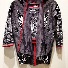 Susana Bettencourt SS15 Who's Next Paris Paris Fashion Week Trends Print Patterns Nature Texture Geometry Graphic Knitwear Knit Jacquard Etnical