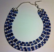 Missoni Knockoff Necklace | AllFreeJewelryMaking.com