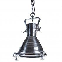 aluminium shiney industrial lamp tough L