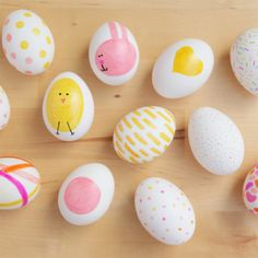 Whimsical Ways To Decorate Your Easter Eggs | creative gift ideas & news at catching fireflies