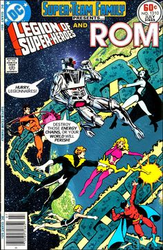 Super-Team Family: The Lost Issues!: The Legion of Super-Heroes and ROM