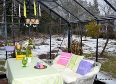 Our vernal greenhouse 2014 Porch Swing, Outdoor Furniture, Outdoor Decor, Google, Free, Home Decor, Decoration Home, Room Decor, Porch Swings