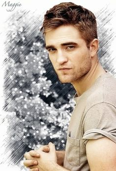 Such a beautiful man.