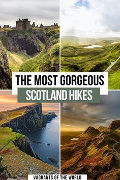 Scotland Hiking, Scotland Vacation, Scotland Road Trip, Scotland Travel, Scotland Nature, Europe Travel Tips, European Travel, Places To Travel, Places To See