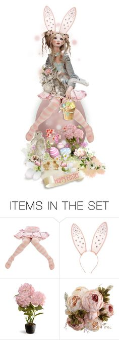 """""""Happy Easter Everyone!"""" by theonly-queenregina ❤ liked on Polyvore featuring art"""