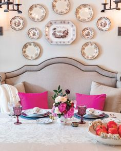 Southern Ladies, Dinner For Two, Romantic Dinners, Tablescapes, Floral Arrangements, Backdrops, Table Settings, September, Gallery Wall