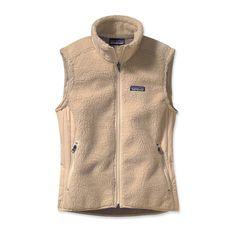 Patagonia Women's Retro-X Fleece Vest - Natural w/ Rice Paper (NRP-700) - Medium