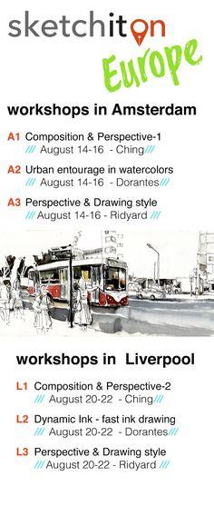 Workshops in Europe