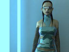 Cyberpunk, Future Girl, Futuristic