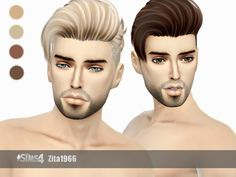 Mesh not included - u need it for my 2 recolors 2 work  Found in TSR Category 'Sims 4 Male Hairstyles'