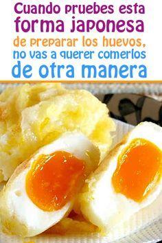 Huevos en tempura, una receta japonesa #huevos #japonesa #receta #video #cocinar