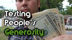 Testing People's Generosity - Money Experiment