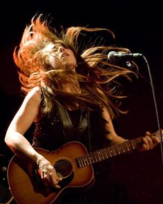 Serena Ryder opened up for Melissa Etheridge at Place des Arts in Montreal in 2011