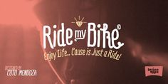 Ride my Bike - Webfont & Desktop font « MyFonts