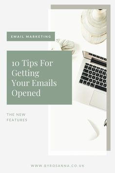 Growing a list of email subscribers is one thing, but do we actually get our emails opened so that they see our content? I'm sharing 10 ways to help increase your email opens, including tips on how to write an engaging email subject line | #emailmarketing #emailmarketingtips #openrate #emailmarketinghacks