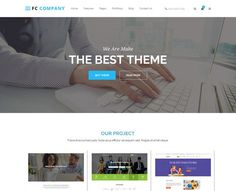 FC Company Bootstrap Template. HTML/CSS Themes. $10.00