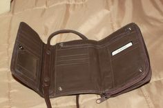 Your place to buy and sell all things handmade Brown Purses, Zipper Pouch, Purse Wallet, Leather Purses, Vintage Items, Handmade Jewelry, Buy And Sell, Board, Stuff To Buy