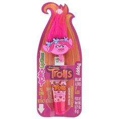 "Yoyo """"Trolls - Poppy"""" Retractable Clip-On Lip Gloss - Strawberry"