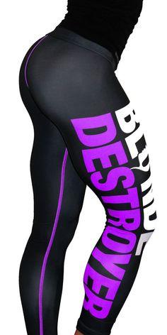 BLOND DESTROYER WOMEN'S SPORT PANTS/LEGGINGS/TIGHTS SIZE S
