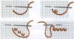ДЕКОРАТИВНАЯ ВЫШИВКА вязание