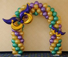 sesame street balloon arch | 26 balloons and party decor are the leading specialist in balloon ...