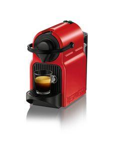 Кофемашина Nespresso Inissia Ruby Red 2 режима на 40мл и 110мл, 0,7л