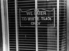 A segregative sign on a restaurant in Lancaster Ohio 1938 - Jim Crow laws - Wikipedia the free encyclopedia Separate But Equal, E Trade, Jim Crow, Green Books, Rosa Parks, Civil Rights Movement, African American History, Black History, Mississippi