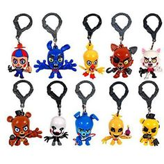 Five Nights At Freddy's FNAF Bonnie Foxy Freddy Fazbear Bear foxy chica night at freddy Toys Doll keychain Freddy Toys, Fnaf Freddy, Freddy Fazbear, Five Nights At Freddy's, Night Blinds, Fnaf Sister Location, Bag Clips, The Collector, Gifts For Kids