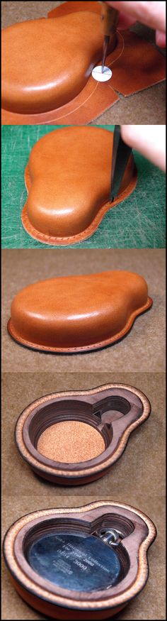 Leather tooling.