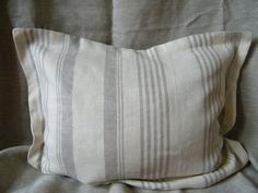 Natural Linen Pillow Cases  Covers  Eurosham 26  by LinenForHome, $54.00