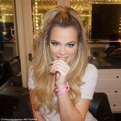 Loves her family: Khloe Kardashian, pictured, has previously gushed about being a 'cool aunt' and spending lots of quality time with her nieces and nephew