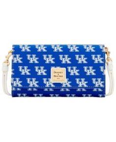 Dooney & Bourke Kentucky Wildcats Daphne Crossbody Wallet - Blue