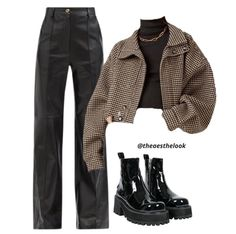Style Outfits, Edgy Outfits, Mode Outfits, Retro Outfits, Cute Casual Outfits, Winter Fashion Outfits, Look Fashion, Fall Outfits, Aesthetic Fashion