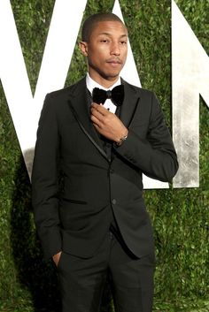 Pharrell Williams in Lanvin - 2012 Vanity Fair oscar Party