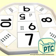 Number Shapes 0 to 10 - Maths Resources - Foundation Phase - Primary Treasure Chest Numeracy Activities, Maths Resources, Number Activities, Teaching Activities, Teaching Math, Teaching Ideas, Play Number, Numicon, Tuff Tray