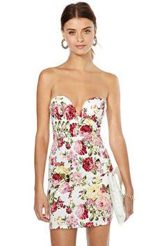 Garden Life Floral Dress