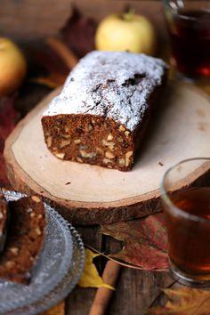 cake d'automne aux fruits secs et pommes râpées