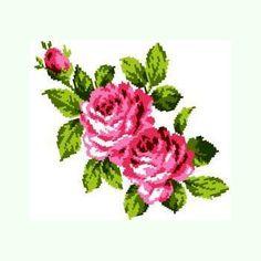 Букет роз K304 Cross Stitch Rose, Eminem, Crafts, Rose Flowers, Stitches, Models, Cross Stitch, Cross Stitch Fairy, Rose Trees