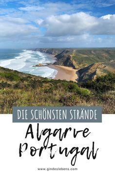 Ein Kurztrip führt uns nach Portugal. Wir zeigen euch die schönsten Strände und Orte an der Algarve. Die Dichte an Traumstränden ist an der Algarve wohl besonders hoch. Wer wilde, naturbelassene Strände liebt, der ist hier genau richtig. Mehr zur Algarve in Portugal auf www.gindeslebens.com #Portugal #Algarve #SträndeAlgarve #AlgarvePortugal Travel Guides, Travel Tips, Reisen In Europa, Tromso, Teenager, Algarve, Slovenia, Tricks, Croatia