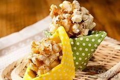 Receita de Pipoca com café em receitas de doces e sobremesas, veja essa e outras receitas aqui!
