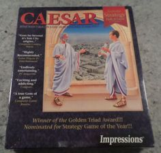 CAESAR IBM PC CD Original BIG BOX new sealed in plastic Impressions