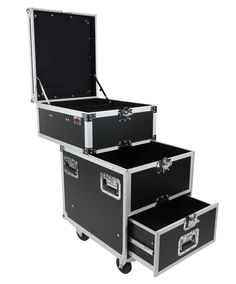 The Pro-Work-SDC Sliding Drawer Case by OSP is an innovative multi-purpose utility production tour case. It features 3 separate storage compartments each of which have their own unique features and ar